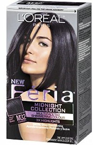 loreal-paris-feria-midnight-collection-violet-soft-black-m32-1ea-pack-of-2