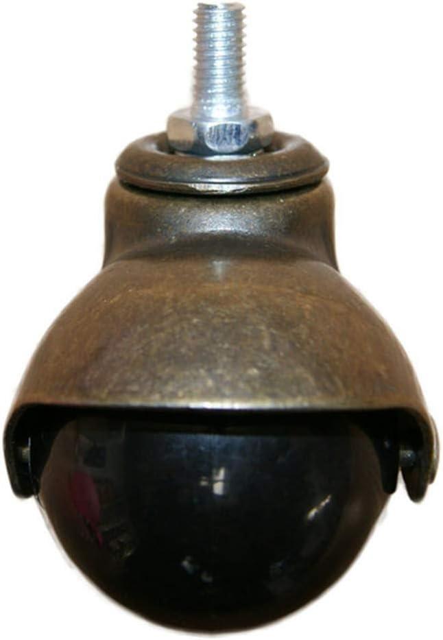 Casters M8,4pcs Office Chair Ball Casters Wheels,2 48mm Antique ...