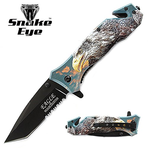 Snake Eye Tactical 3D Print Design Rescue Style Folding for sale  Delivered anywhere in USA