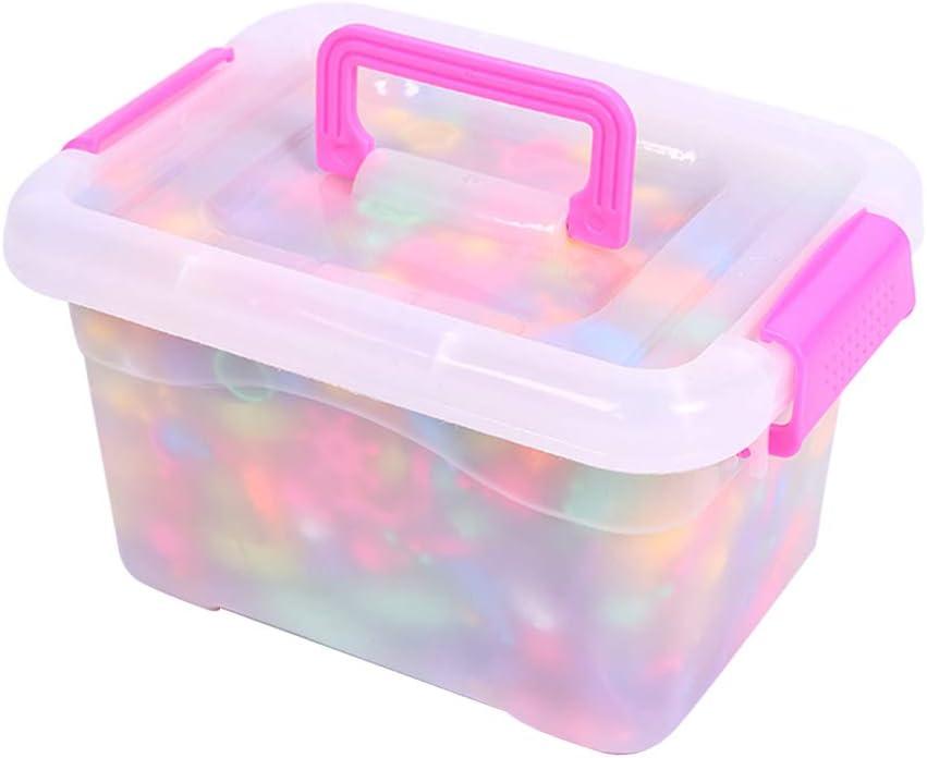 Artibetter 1 caja Pop Beads Snap Beads Juguetes educativos inalámbricos con caja para DIY Niños Collar hecho a mano que hace el Kit: Amazon.es: Hogar