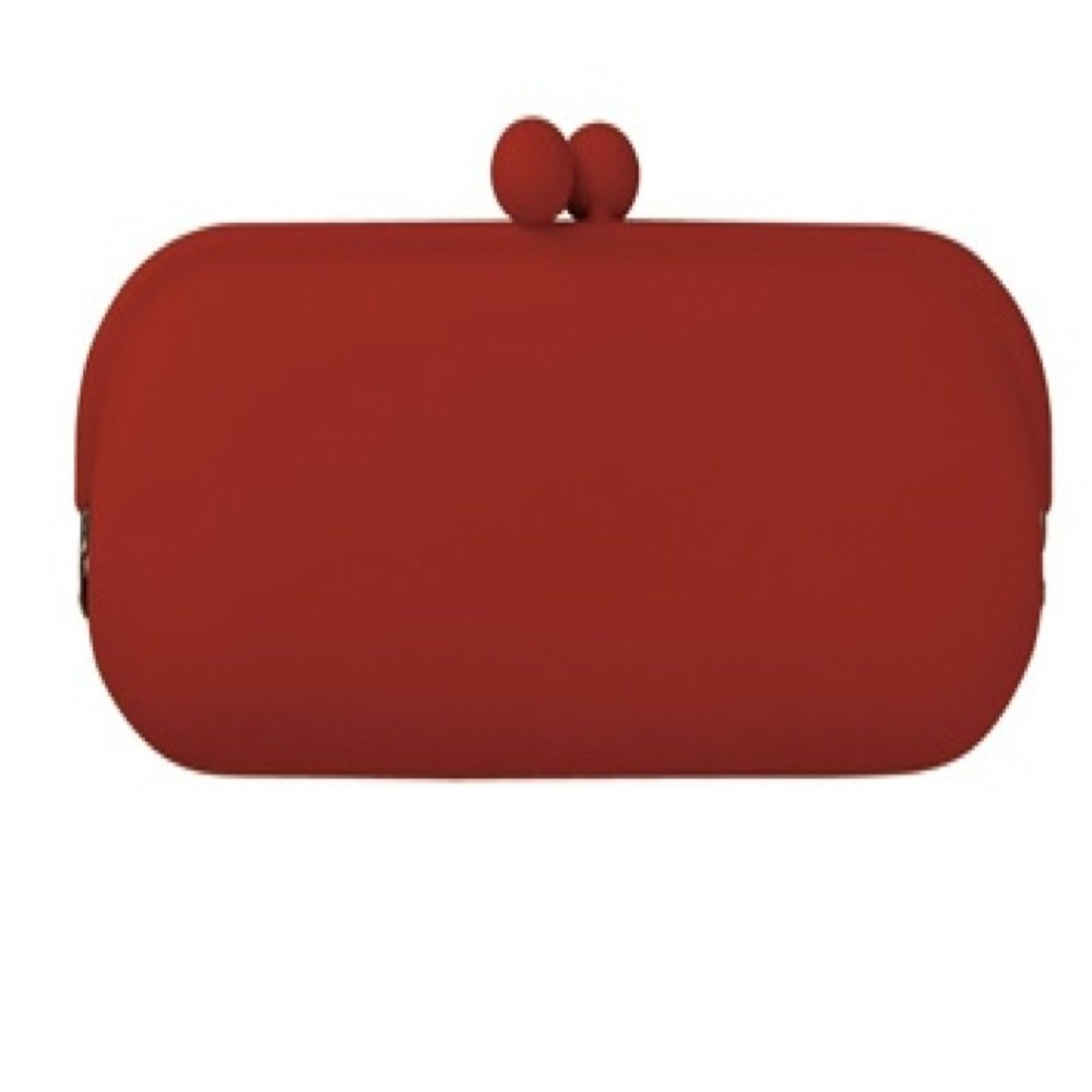 Poch III Silicone Glasses//Accessory Case Red P+G Design PC-03