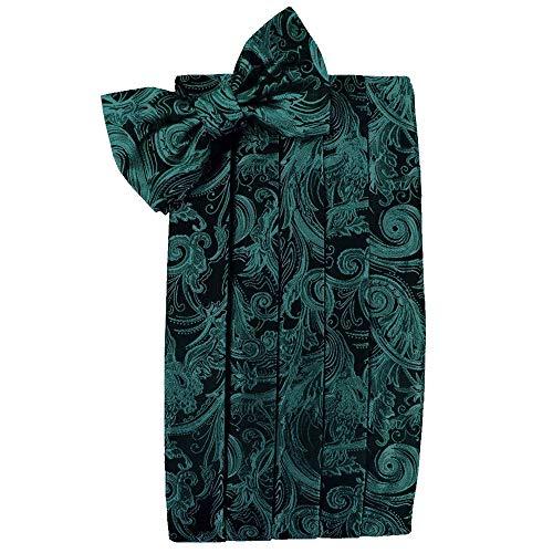 (Men's Tapestry Cummerbund & Bow Tie Set - Many Colors (Oasis))