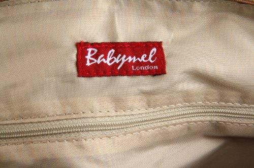 Babymel Ella Mocha - Bolso cambiador, color café