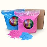 Holi Color Powder 5lb Blue and 5lb Pink (gender reveal)