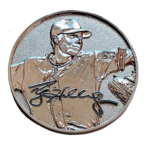 Die Cast Collectible Mlb Baseball - Everything is Play Roy Doc Halladay Memorial Challenge Coin (Silver)