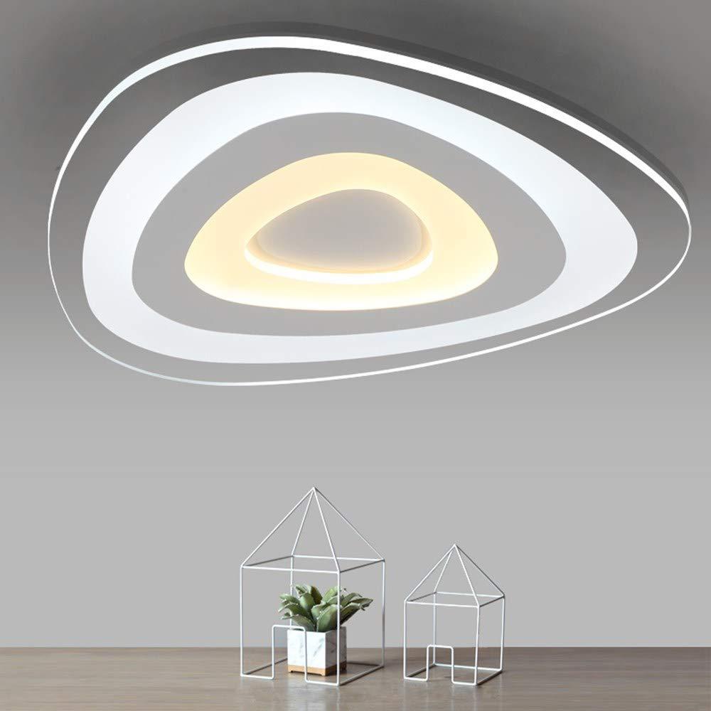 Moderne Wohnzimmer-Schlafzimmer-LED-Deckenleuchten mit Fernbedienung und Beleuchtung LED-Deckenleuchte Deckenleuchten, D200MM, dimmbar