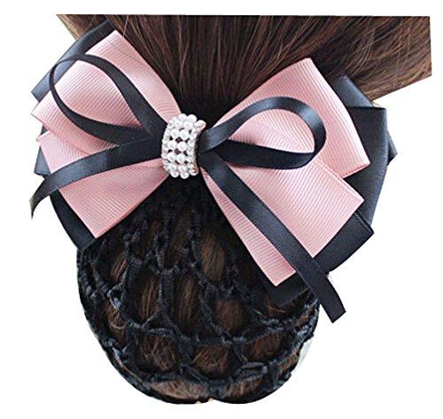 lace-delicate-professional-hair-net-headdress-flower-nurse-airline-stewardess