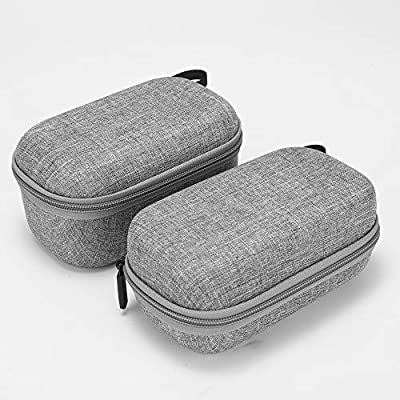 Tineer Hard Shell EVA Carrying Case Storage Drone Body and Remote Controller Travel Bag for DJI Mavic Mini Drone Accessory (Grey): Sports & Outdoors