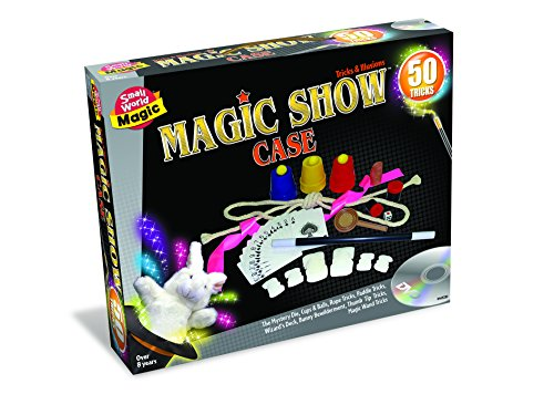 Fifty Tricks With Thumb Tip (Small World Toys Magic - Magic Show Case 50 Tricks Trick Product)
