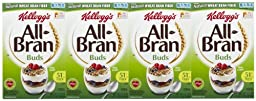 Kellogg\'s All-Bran Buds Cereal - 17.7 oz - 4 Pack