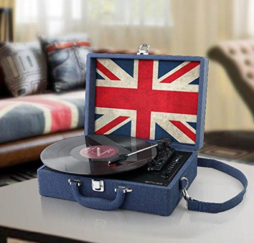 Muse MT-102 JS tocadisco - Tocadiscos, 33,45,78 RPM, 100-240, 50 ...