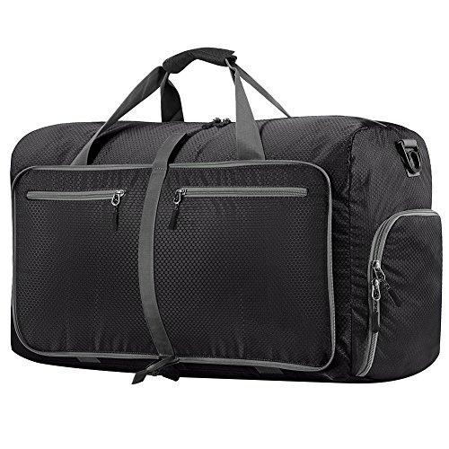 Travel Duffel Bag WZTO 45L/65L/100L Foldable Duffel Luggage Bag Waterproof Lightweight