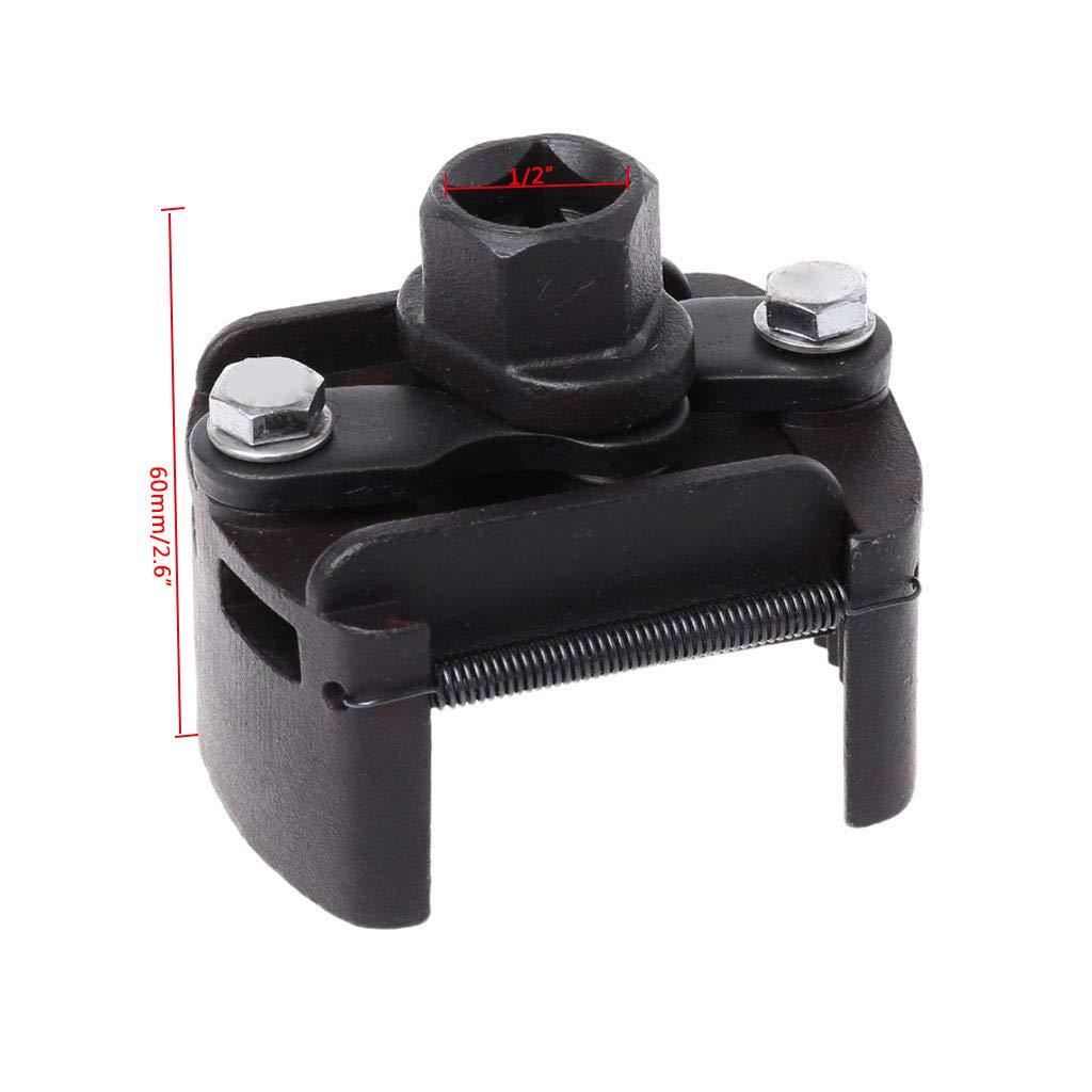 Watermk Verstellbarer Filterschl/üssel-Entferner zum Entfernen von Kraftstofffreiheit 2-Backen-Gussstahlschl/üssel