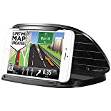 Car Phone Holder,Dashboard Phone Holder for GPS, Silicone Cell Phone Car Mount Cradles for iPhone X / 8/8 Plus / 7, Samsung Galaxy S9 / S9 Plus / S8 / S7, Google and 3-6.8 Inch Mobile Phone or GPS