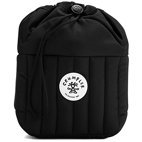 Crumpler Men's The The Haven (M) Camera Bag 4L Solid Black