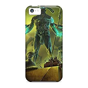 Cute Appearance Cover/tpu GGMXviF2977djvuf Dark Arcana The Carnival07 Case For Iphone 5c