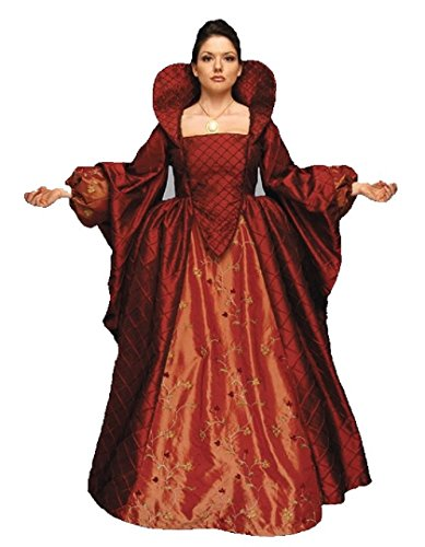 Queen Elizabeth I Renaissance Medieval elizabethan Gown Costume (Small) ()