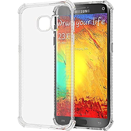 Galaxy S7 Edge Case, LUVVITT [Clear Grip] Soft Slim Flexible TPU Back Cover Transparent Rubber Case for Samsung Sales