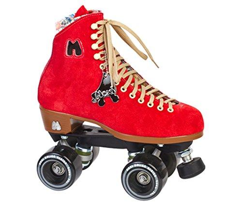 Riedell Roller Moxi Lolly  Poppy Red  5 Medium