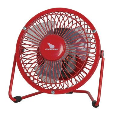 Pleasant Amazon Com Polar Aire High Velocity Fan 4 In 1 Speed Red Home Remodeling Inspirations Genioncuboardxyz