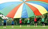 Heavy Duty Standard PE Parachute | 35' with 30 Handles