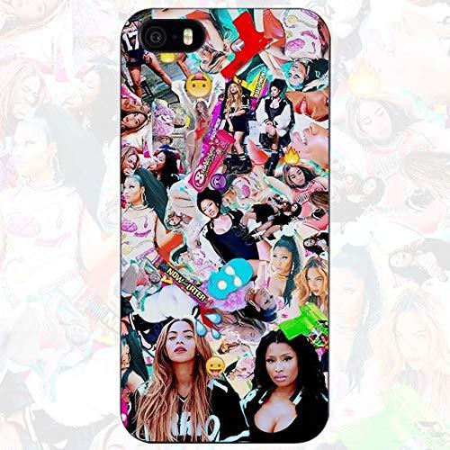 Nicki Minaj iPhone 5C Case Niki Minaj Cover Young Money Cash Money Hip Hop Rapper Artist Music Barbie Singer Pink Friday Album Model Queen Girls, Hard Plastic