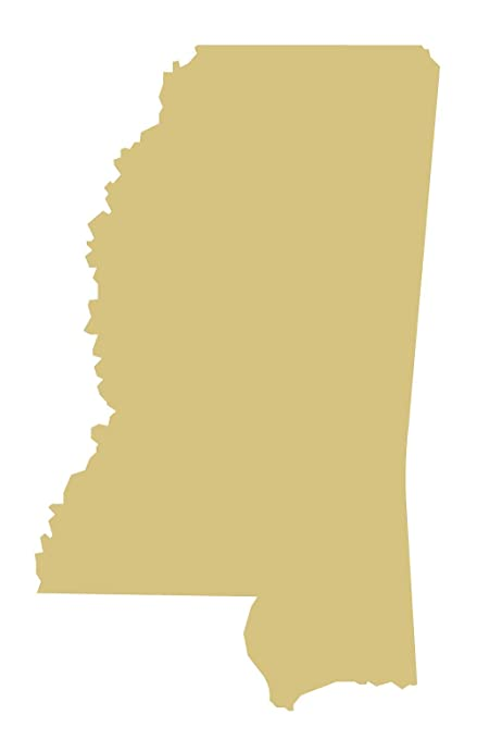 Alabama Cutout Unfinished Wood State Door Hanger MDF Shape Canvas Style 1