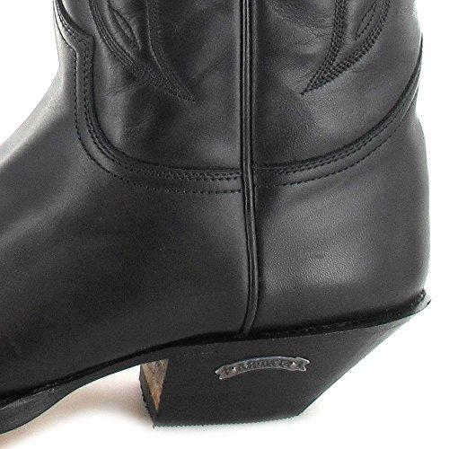 pull Boots Unisex Negro Western 2073 Stivali Adulto Sendra Nero 0wdzIdqx