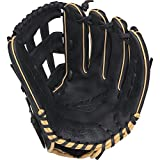 Rawlings  Gamer Gloves with Taper Pro H Web, Left Hand, Black, 12