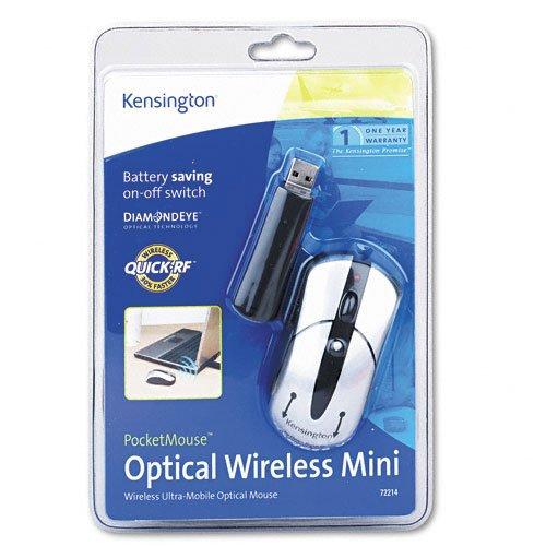Kensington pocketmouse optical wireless mini