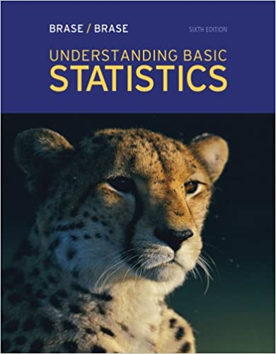 Understanding Basic Statistics 6th Edition