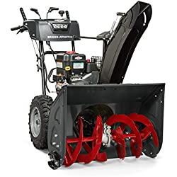 "Briggs & Stratton 27"" Dual-Stage Snow Blower w/Heated Hand Grips, Electric Start, and 250cc Snow Series Engine, Elite 1227 (1696815)"