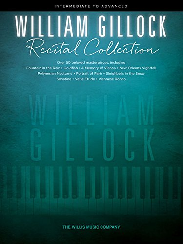 Download William Gillock Recital Collection: Intermediate to Advanced Level pdf