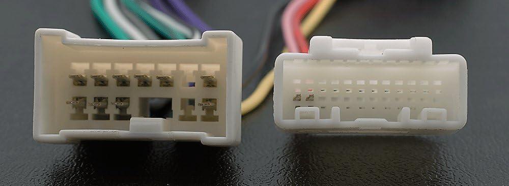/Adattatore radio ISO per Renault 2012/+ CARAV 12/ Wire connettore cablaggio Loom/ /Cavo adattatore stereo /043/ modelli selezionati //Dacia 2011/+ modelli selezionati
