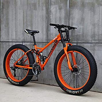 GASLIKE Fat Tire Mountain Bike para Adolescentes de Hombres y ...