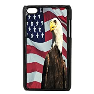American Flag Phone Case For Ipod Touch 4 [Pattern-1]