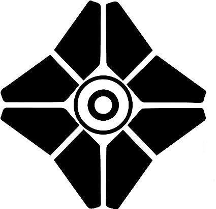 Amazoncom Destiny Video Games Ghost 5 Tall Logo Decal Sticker