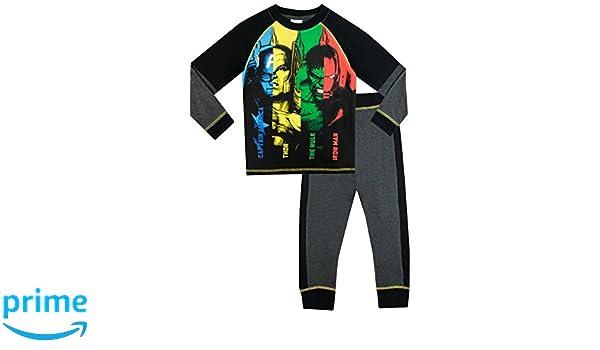 Marvel Avengers - Pijama para Niños - Thor Captain America Hulk Iron Man: Amazon.es: Ropa y accesorios