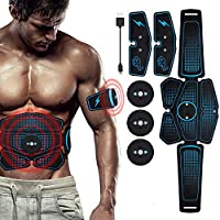 Nexmon Abs Stimulator, Ab Stimulator Muscle Toner, Automatische Stop In 20 Minuten, Aanscherping Abdomen, Beste Geschenk…