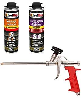 Set pistola de espuma y 1 bote 500 ml Espuma de montaje 1 K Diseño Espuma