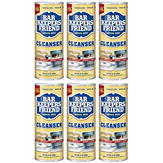 Bar Keepers Friend Powdered Cleanser 21-Ounces (6-Pack)