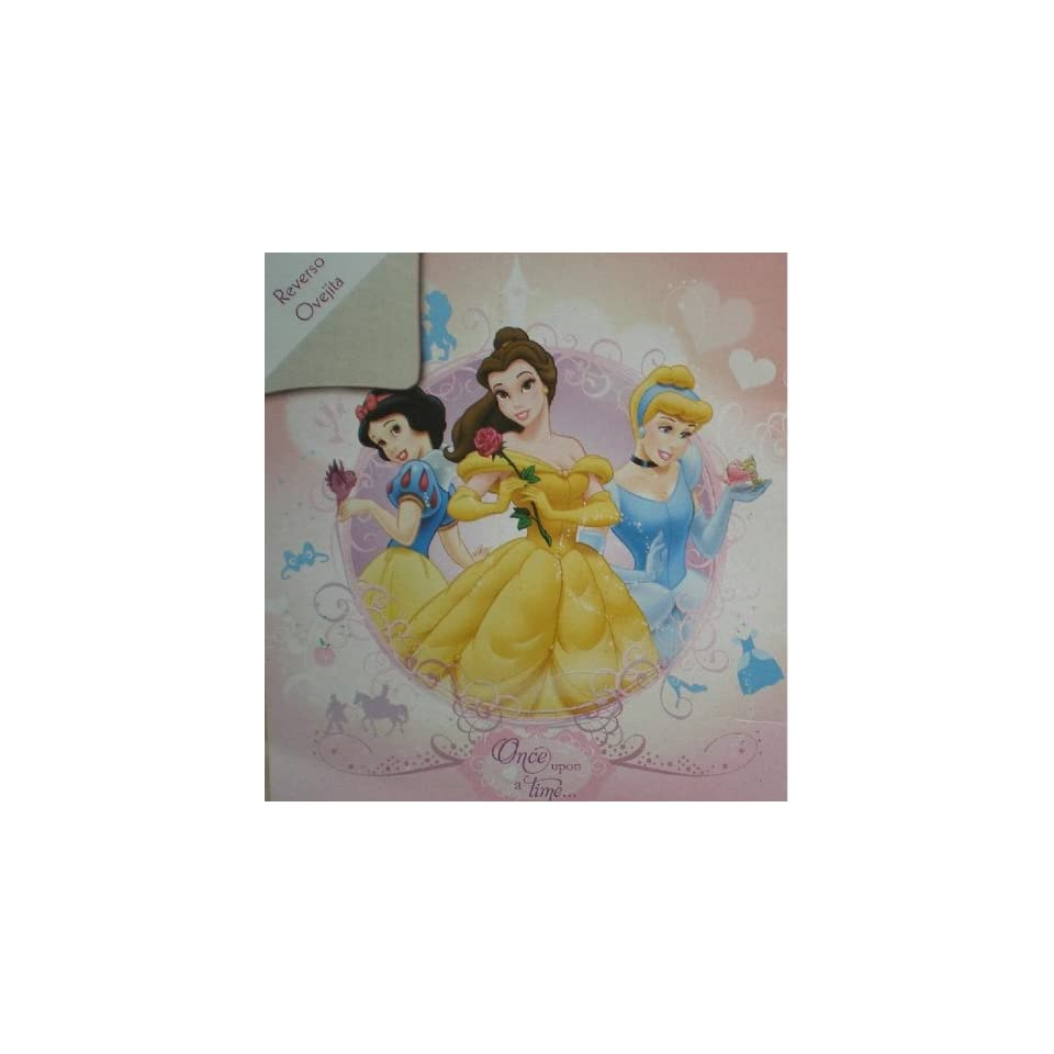 SUPER SOFT FAUX FUR / MICRO FIBER Disney Princess BLANKET super soft and warm Twin size