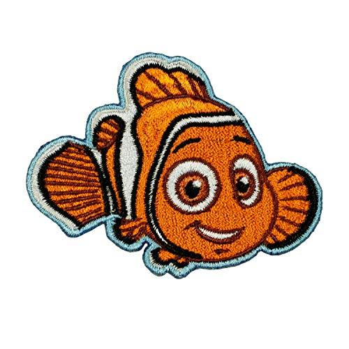 Disney Nemo Patch Finding Dory Clown Fish Movie Embroidered Iron On Applique