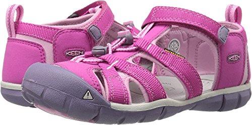 Tip Top Shoes Kids - KEEN Seacamp II CNX Sandal, Very Berry/Lilac Chiffon, 1 M US Little Kid