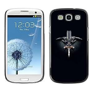 GagaDesign Phone Accessories: Hard Case Cover for Samsung Galaxy S3 - Norwegian Viking Sword