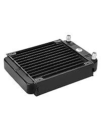 AGPtek   12 Tubo de aluminio Radiador intercambiador de calor para computadora PC CPU CO2 sistema de agua fría láser