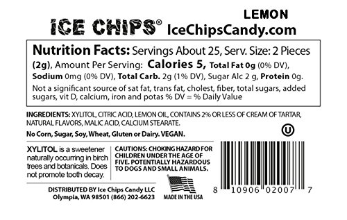 ICE CHIPS Candy 3 Pack Assortment (Sour Apple, Sour Cherry, Lemon) - Includes BAND as shown by ICE CHIPS (Image #4)