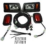 Golf Cart Club Car DS Light Kit Halogen Headlight LED Taillight 1993-2015