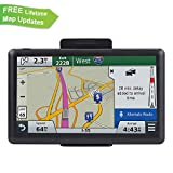 #5: ADiPROD Navigation System for Car, 7 inch 8GB Car GPS Spoken Turn-to-Turn Traffic Alert Vehicle GPS Navigator, Lifetime Map Updates