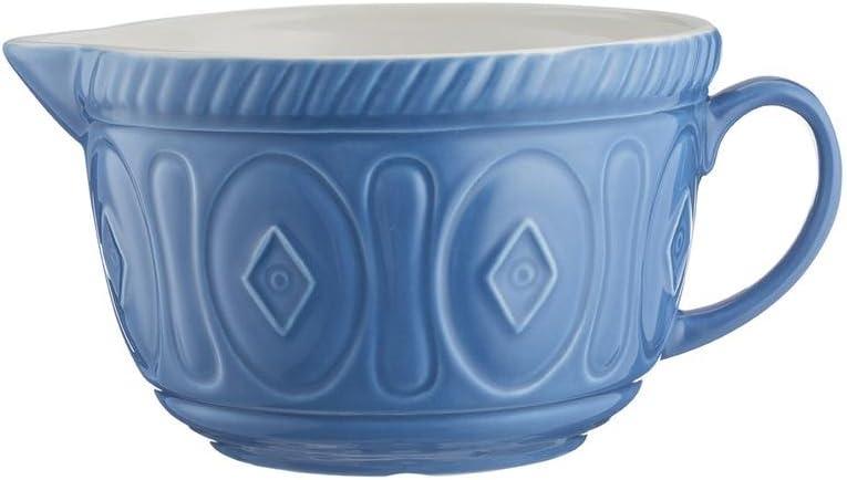 Ceramic Mason Cash Colour Chip Resistant Earthenware Batter Mixing Bowl-Cream 26 x 19.7 x 13 cm
